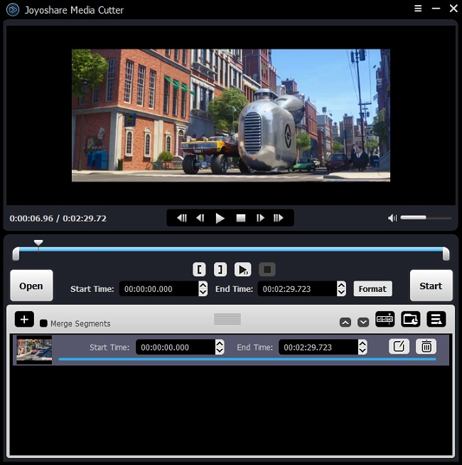 rotate a video in Joyoshare