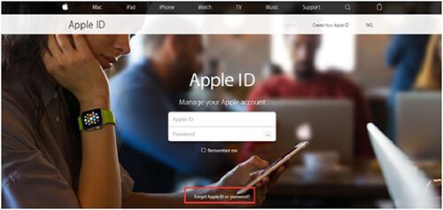 apple id page
