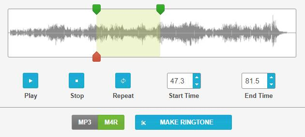 cut ringtone ringtonemaker