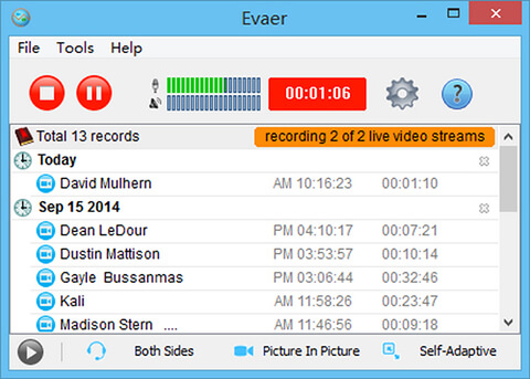 Top 6 Skype Video Recorder Software List