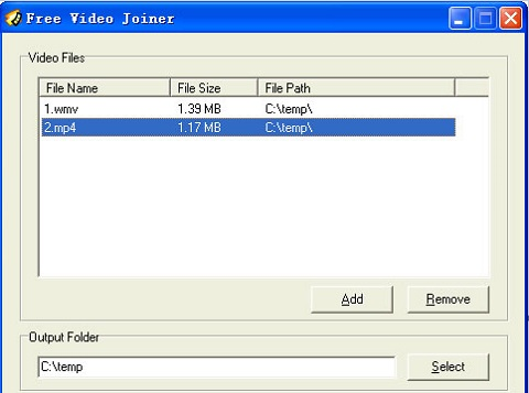 free video joiner