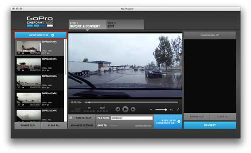 rotate gopro video with gopro studio