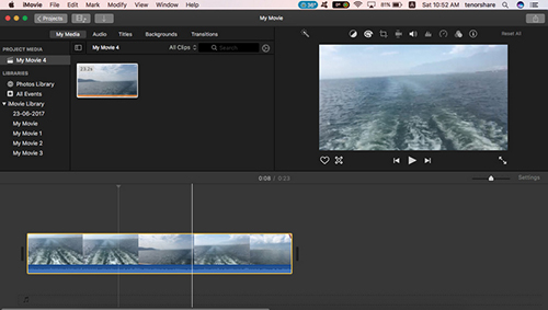 imovie select part