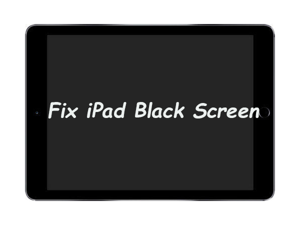 fix ipad black screen of death
