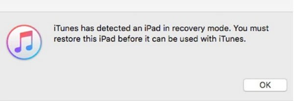 ipad enter recovery mode ok