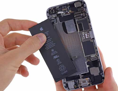 iphone battery replace