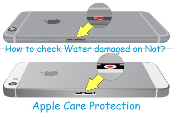check iphone liquid contact indicator