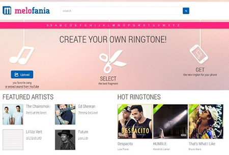 make a ringtone for android with melofania