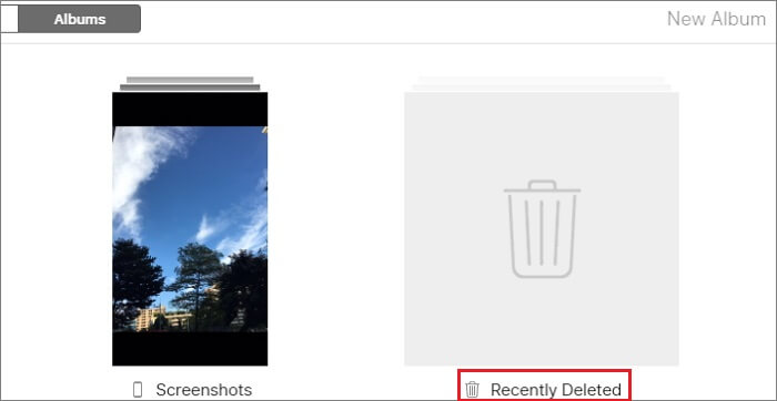 recover deleted photos from icloud