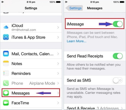 How to Fix iMessages Not Working on My iPhone/iPad