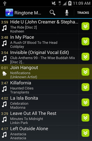 make a ringtone for android with ringtone maker app