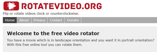 Top 6 best tools to rotate video online rotate video ccuart Choice Image