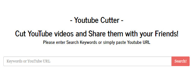 youtube cutter online