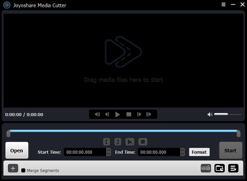 Joyoshare Media Cutter for Windows Screenshot